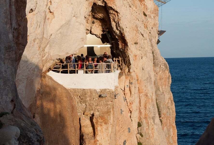 Cave and Cliff Bar Menorca