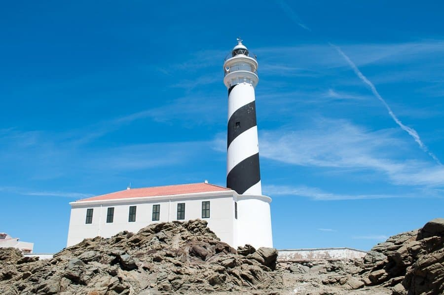 Favàritxlighthouse Menorca