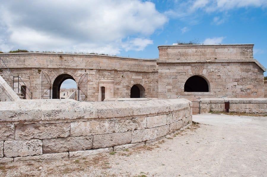 La Mola Fortress Menorca