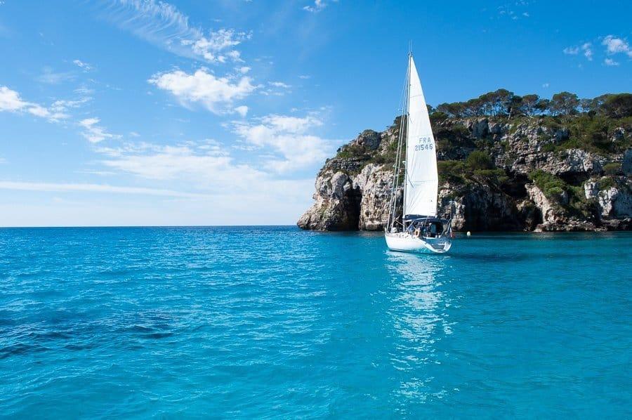 Menorca sailing