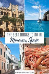 Menorca things to do
