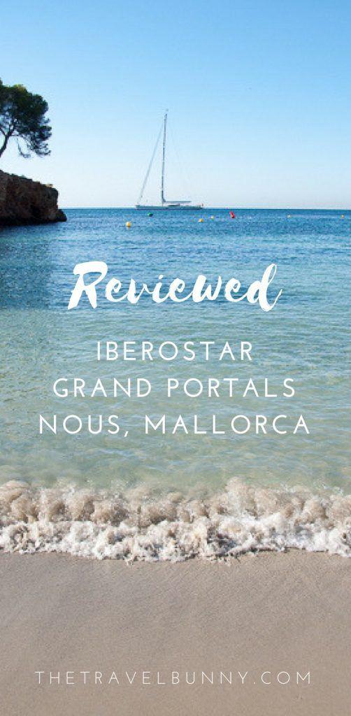 Majorca boutique and design hotel Iberostar Grand Portals Nous reviewed