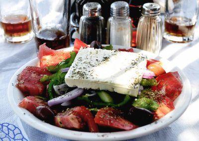 Greek Salad Mykonos