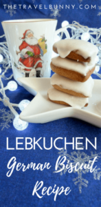 Lebkuchen Recipe for German ginger and spice infused Christmas Biscuits