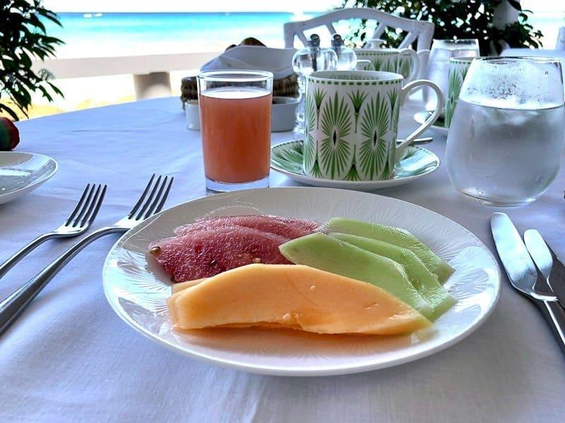 Cobblers Cove Boutique Hotel Barbados Breakfast
