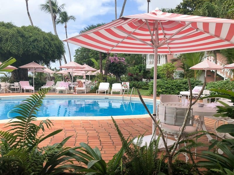 Cobblers Cove Boutique Hotel Barbados Pool