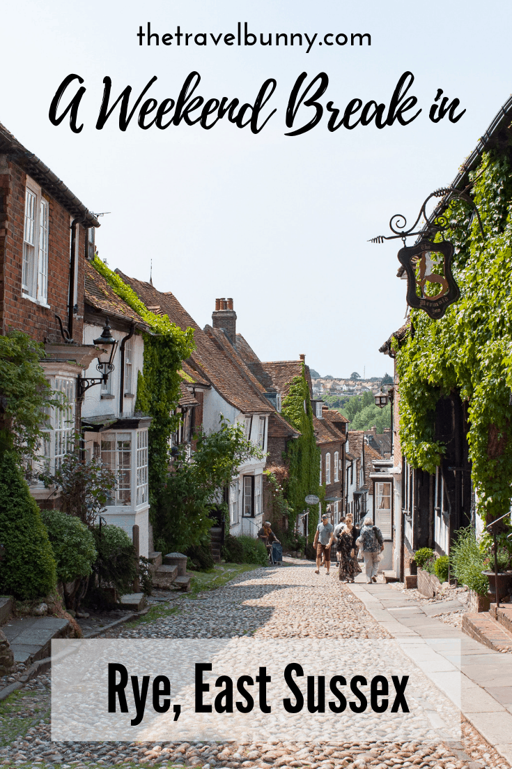 A weekend guide to Rye, East Sussex. What to see and do, eat and drink and where to stay. #rye #eastsussex #travelguide