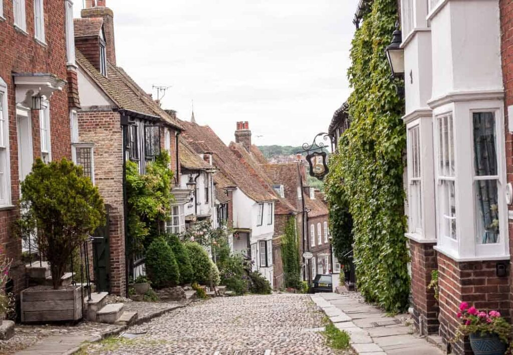 Rye, East Sussex - Mermaid Street
