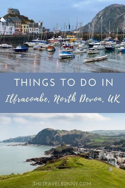 Travel guide to Ilfracombe in North Devon. What to see and do in Ilfracombe a charming coastal town in South West England. #Ilfracombe #Devon #travelguide