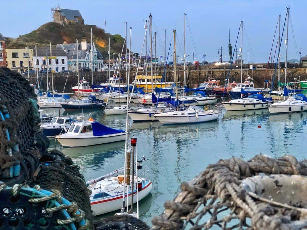 Ilfracombe Harbour and boats, North Devon