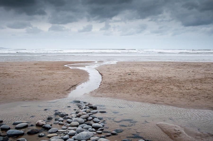 Westward Ho! Beach and pebbles