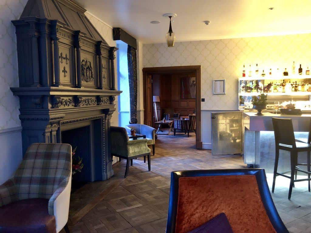 Bar in Wood Norton Hotel