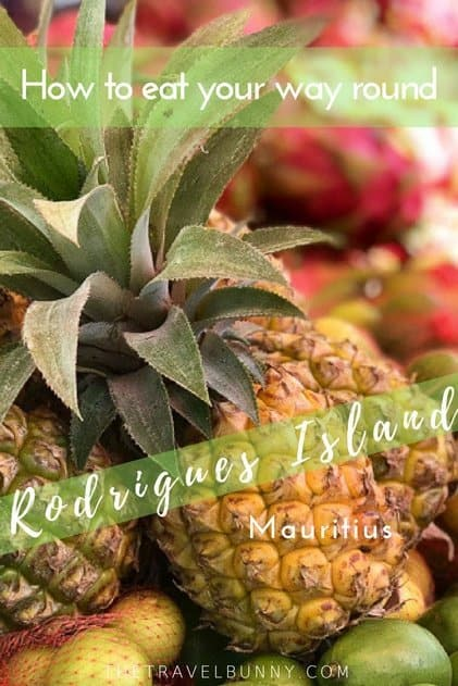 In Rodrigues island, Mauritius food is fresh, local and authentic. Find out what to eat and where as I eat my way round the island. #Rodrigues #Mauritius #FoodGuide