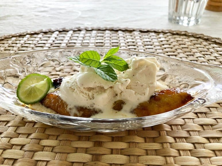 Banana Fritters Rodrigues