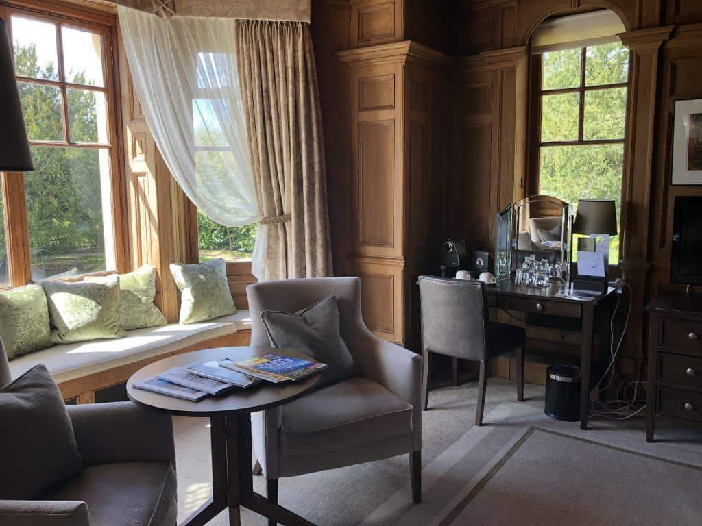 Bedroom at Wood Norton