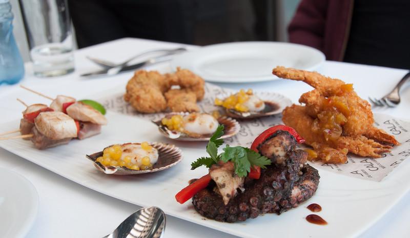 Seafood Platter, Lima, Peru