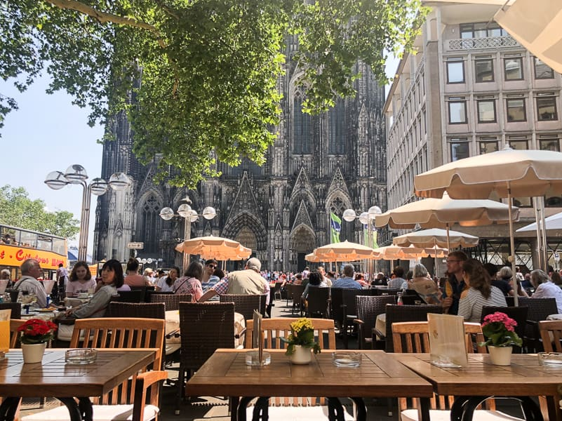 Cafe Reichard Cologne