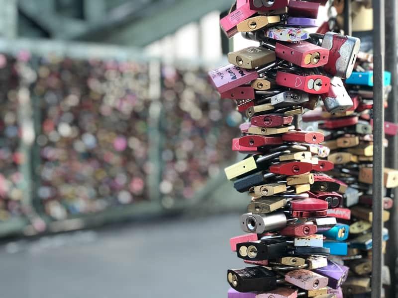 Love Lock Bridge, Cologne