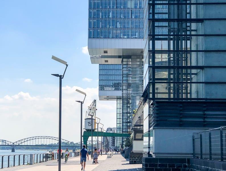Crane Buildings, Cologne