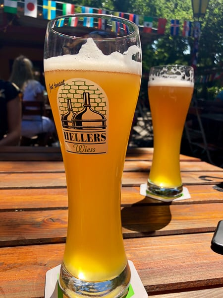 Hellers Beer Garden, Cologne