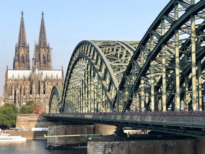 Hohenzollern Bridge, Cologne