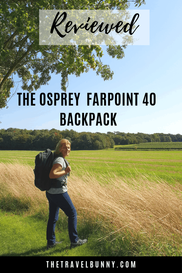 Review: The Osprey Farpoint 40 rucksack is carry-on compliant for many low cost airlines. Read my review of one of the best travel backpacks you can buy. #rucksack #review #backpack