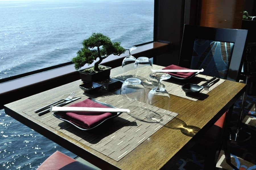 dining over the water