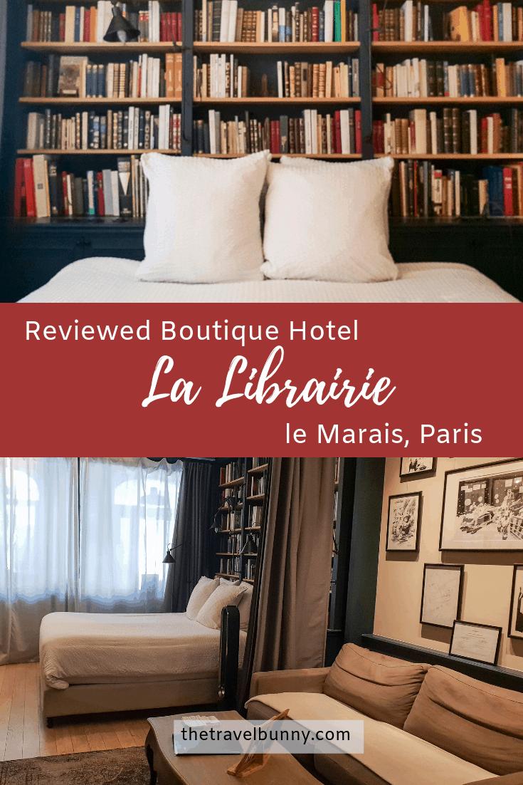 Bookshop hotel room