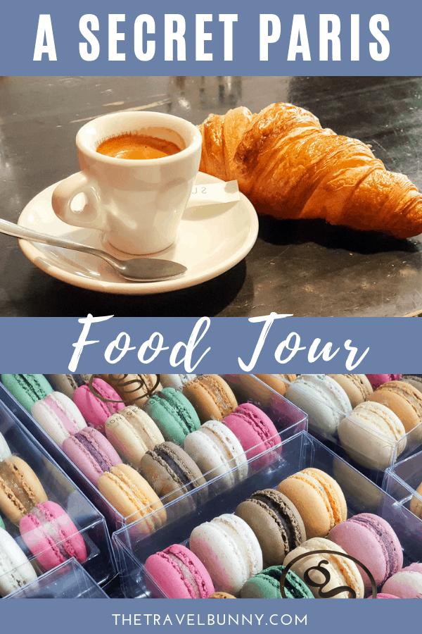 Macarons, coffee and croisant