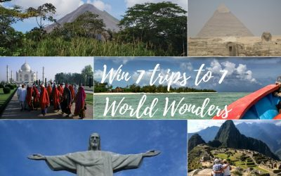 Win Seven Trips to Seven World Wonders