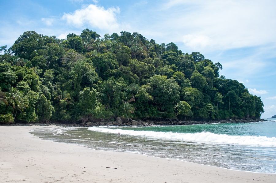 Beach at Manuel Antonio Costa Rica