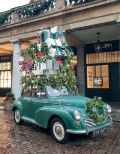 Covent Garden Christmas Car