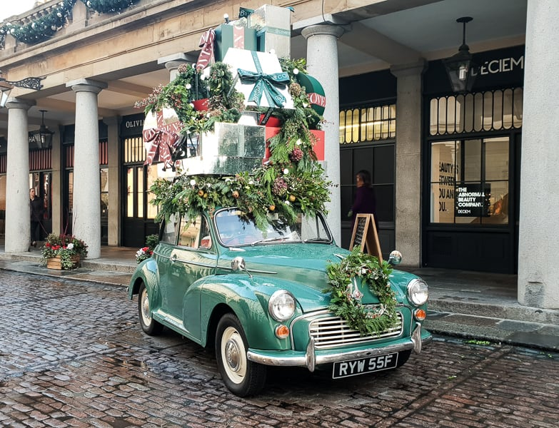 Covent Garden Christmas Car