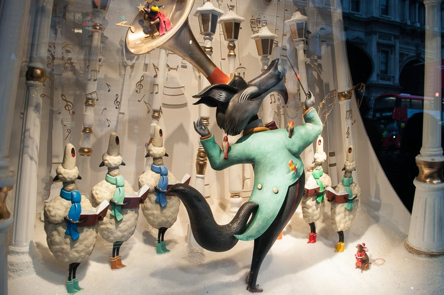 Fortnum & Mason Christmas Window Display