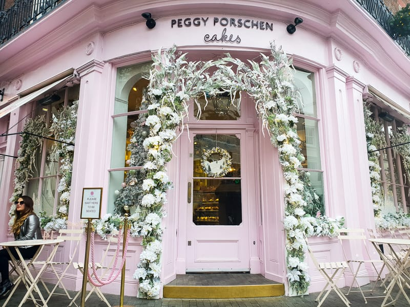 Peggy Porschen Cake Shop at Christmas