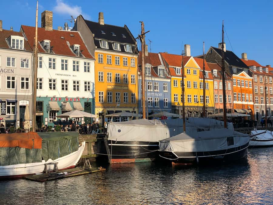 Colourful houses, Nyhavn, Copenhagen