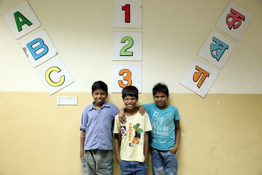 Former street children Delhi