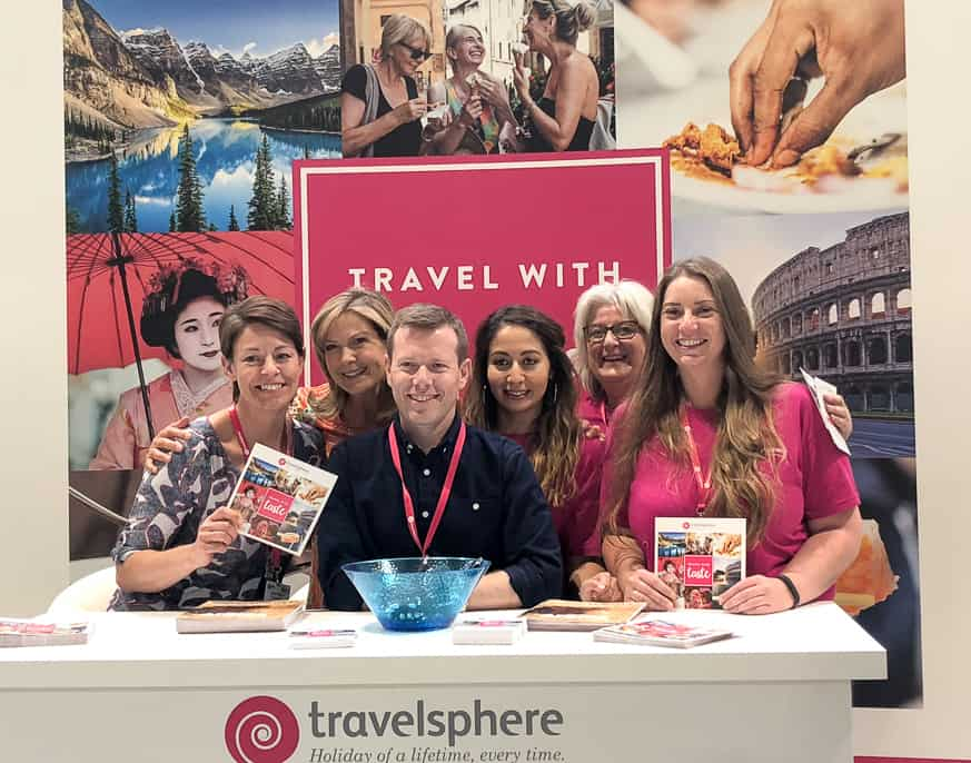 Travelsphere holidays team