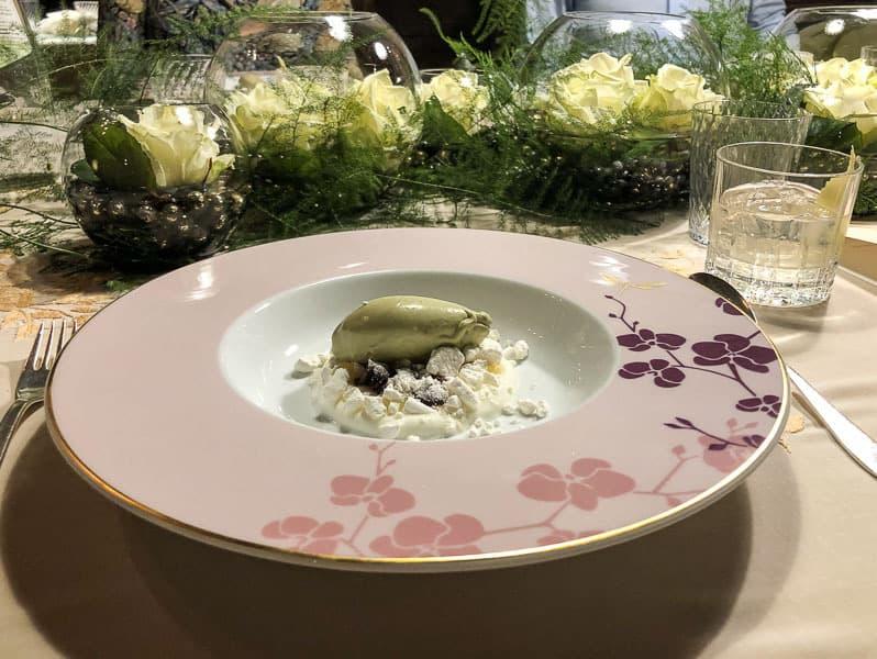 Dessert at La Stüa de Michil Corvara, Italy