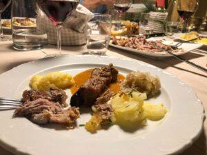 Ladin food at Maso Runch Alta Badia