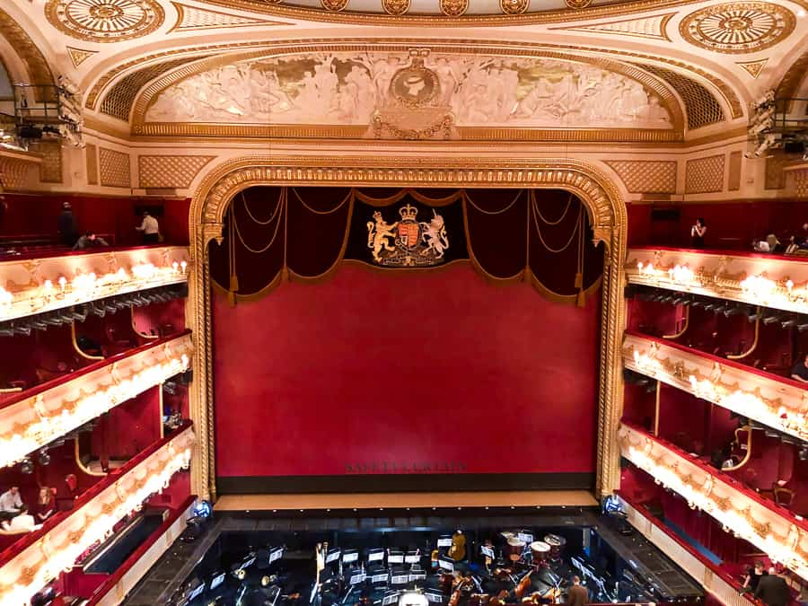 Main Stage, Royal Opera House, London,