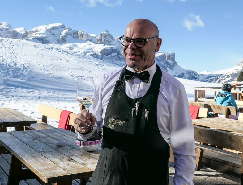 Hubert, Sommeliers on the slopes, Alta Badia
