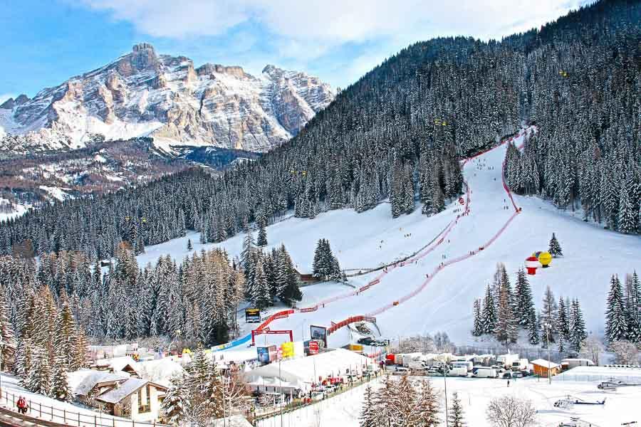 Gran Rise Pista, Alta Badia, Italy