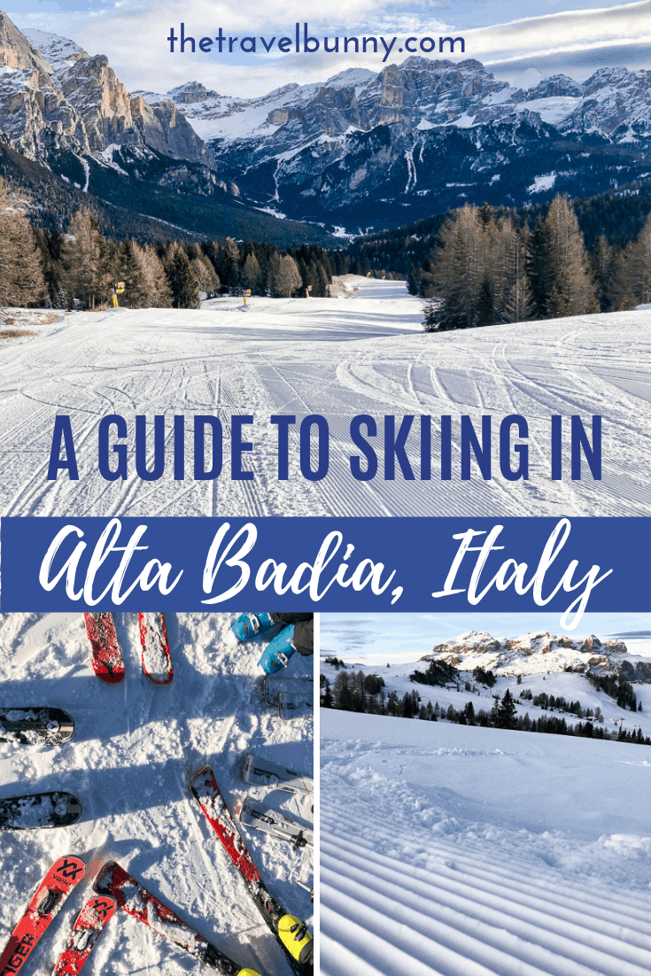 Ski runs in Alta Badia