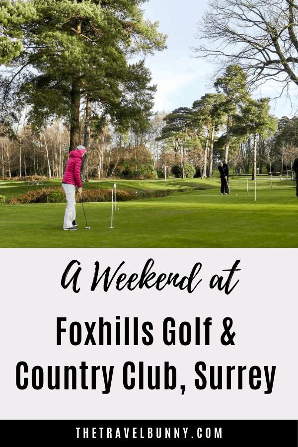Putting green Foxhills Golf Club