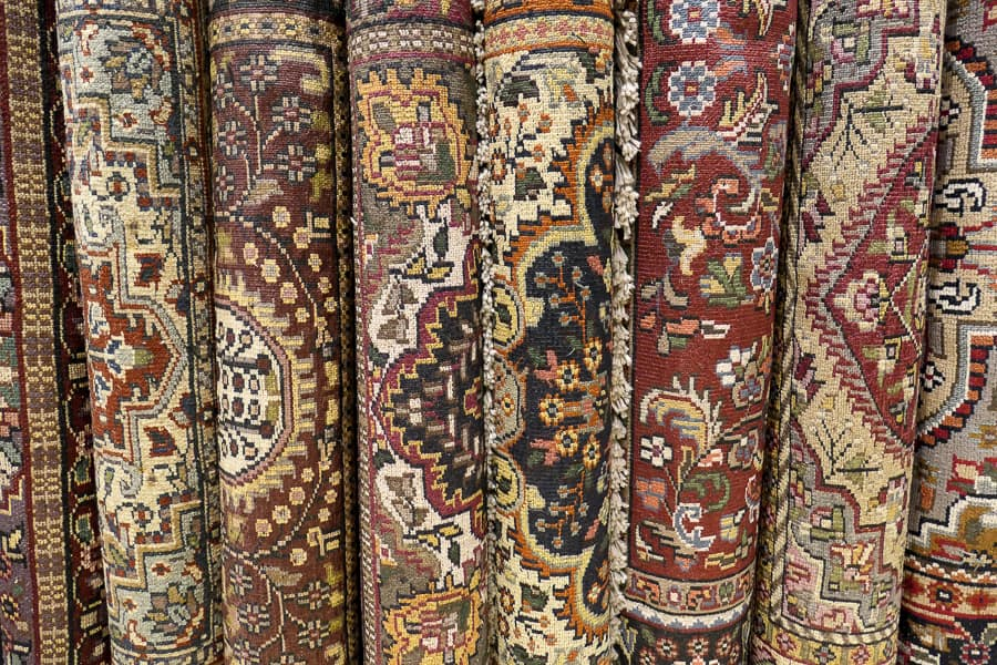 Carpets at Central Souk, Sharjah
