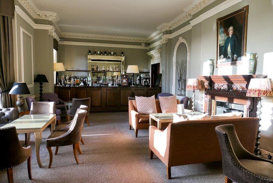 Bar and lounge at Foxhills Surrey