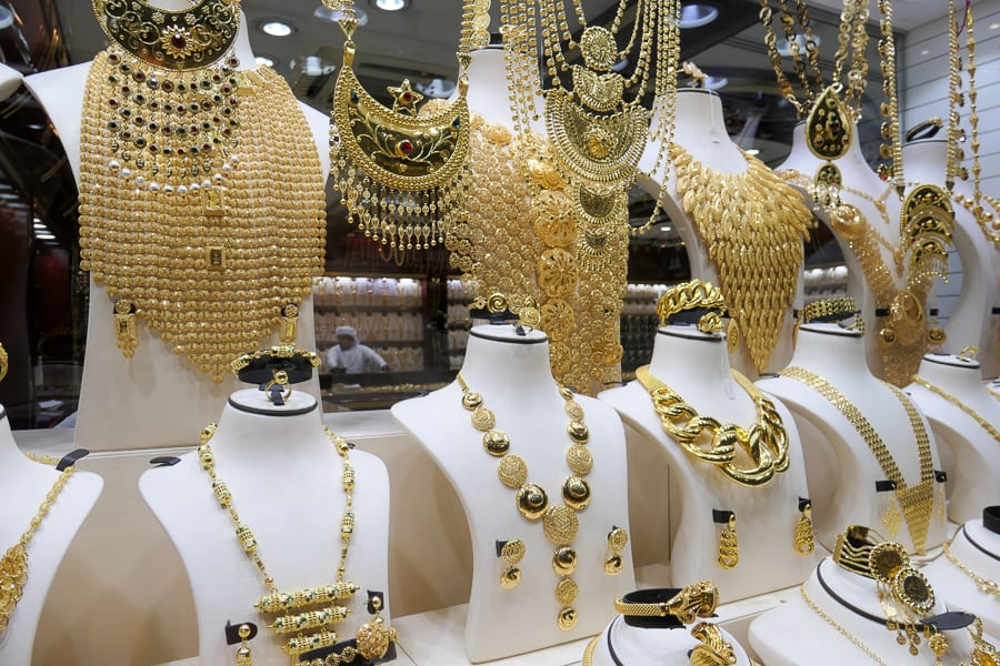 Gold at Central Souk Sharjah