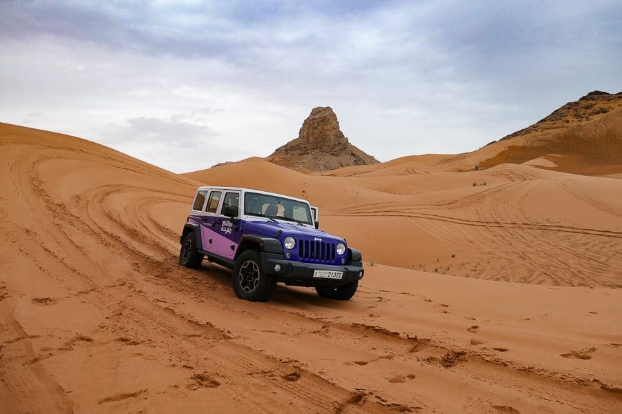 Dune Bashing, Sharjah Desert