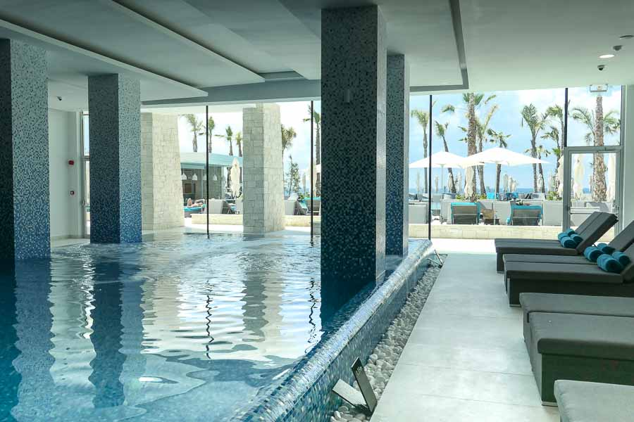 Indoor Pool Amavi Hotel, Paphos